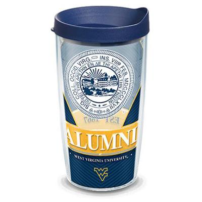 West Virginia Tervis 16 oz Alumni Tumbler