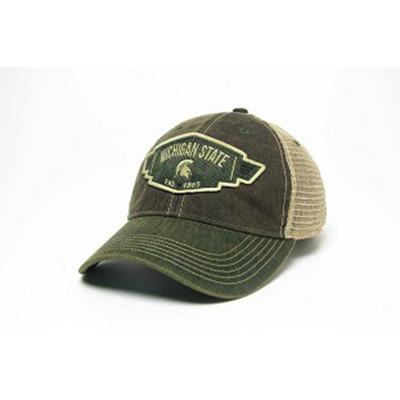 Michigan State Legacy Wings Mesh Adjustable Hat
