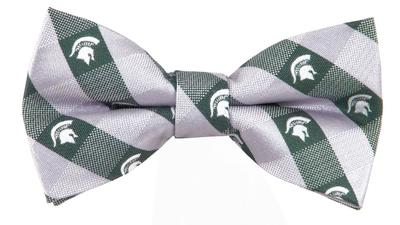Michigan State Check Bowtie