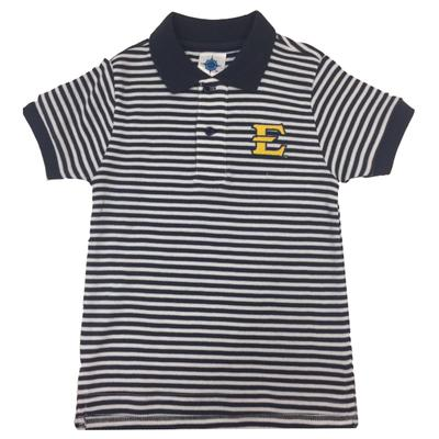 ETSU Toddler Striped Polo