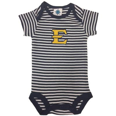 ETSU Infant Striped Bodysuit