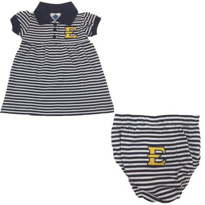 ETSU Infant Stripe Dress