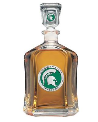 Michigan State Capitol Decanter