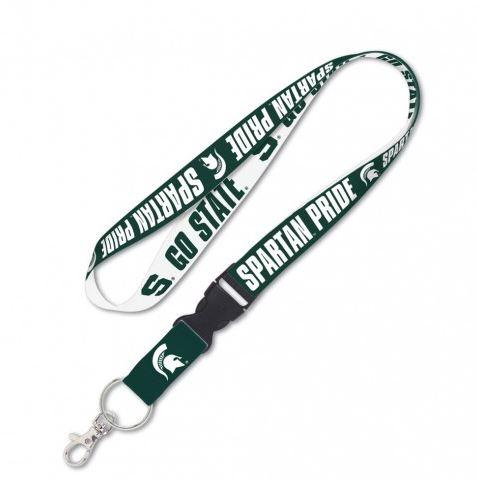 Michigan State Lanyard With Buckle