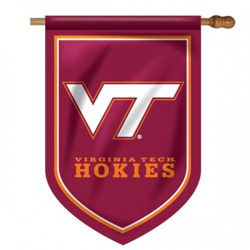 Virginia Tech Shield House Flag