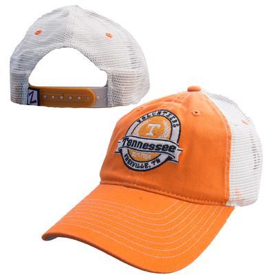 Tennessee Round Logo Trucker Hat