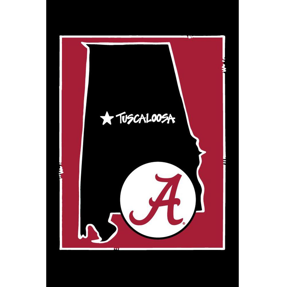 Alabama Magnolia Lane State Garden Flag