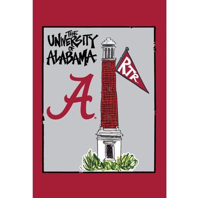 Alabama Magnolia Lane Campus Garden Flag