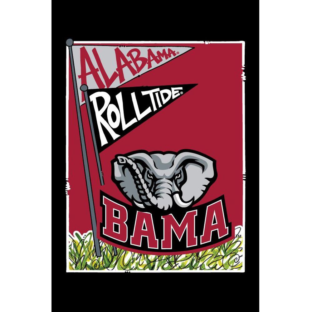 Alabama Roll Tide Garden Flag