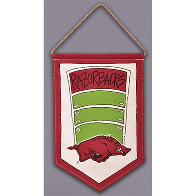 Arkansas Canvas Field Hanging Banner