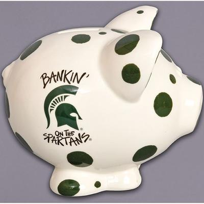 Michigan State Piggy Bank
