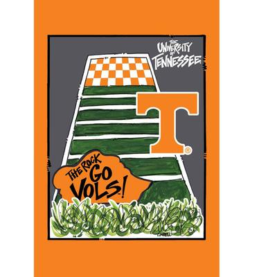 Tennessee The Rock Garden Flag