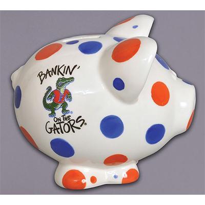 Florida Polka Dot Piggy Bank