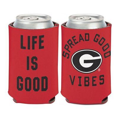 Georgia Bulldogs Life Is Good Koozie