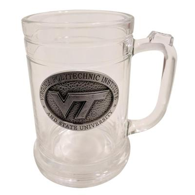 Virginia Tech Silver Pewter Stein