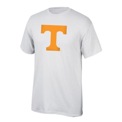 Tennessee Power T Logo Tee Shirt WHITE