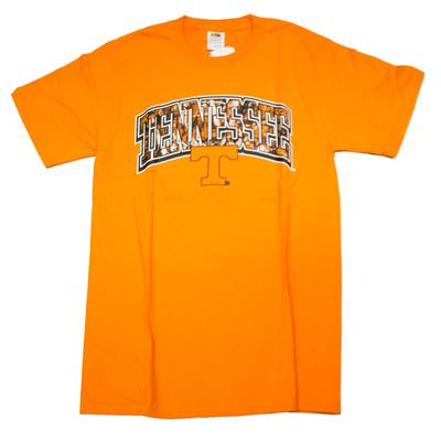 Tennessee Camo Fill Arch T-shirt