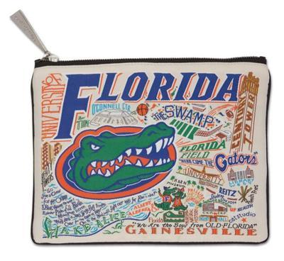 Florida Catstudio Woven Pouch