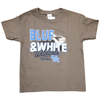 Kentucky Youth Football Double Stack Tee