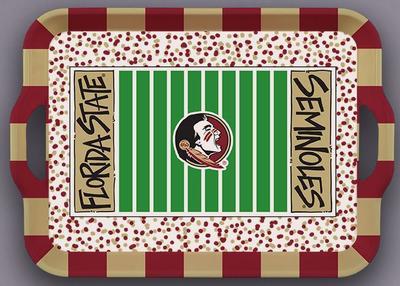 Florida State Magnolia Lane Melamine Stadium Tray