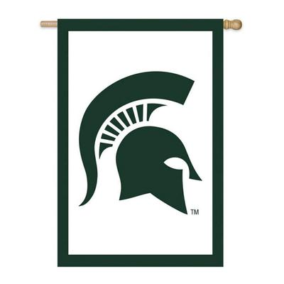 Michigan State Evergreen House Flag