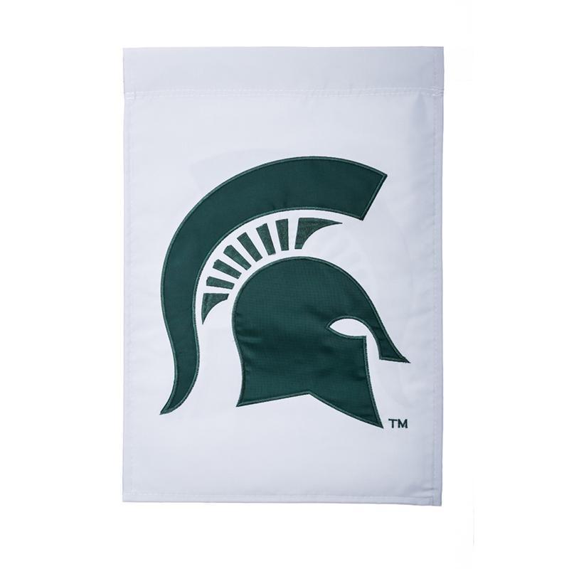 Michigan State Evergreen Garden Flag