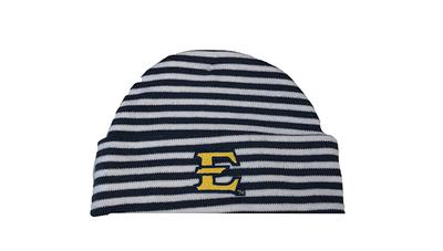 ETSU Infant Striped Knit Cap