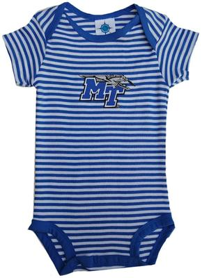 MTSU Infant Striped Bodysuit