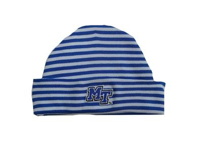 MTSU Infant Striped Knit Cap