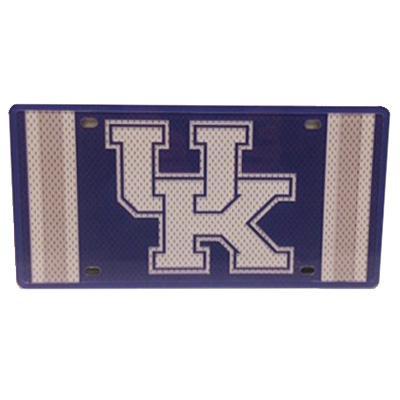 Kentucky Jersey Logo License Plate