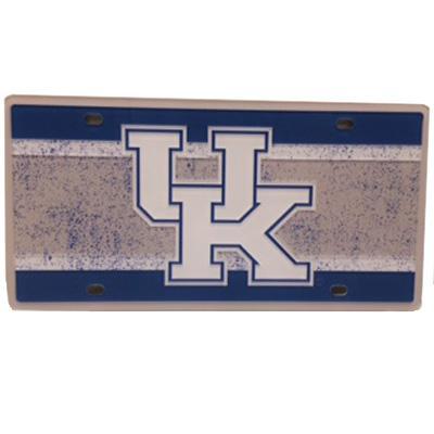 Kentucky Vintage Logo License Plate