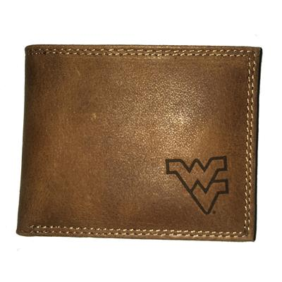 West Virginia Embossed Bi Fold Wallet