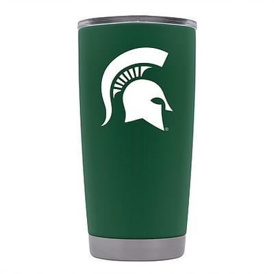 Michigan State Gametime Sidekick 20oz Green Tumbler
