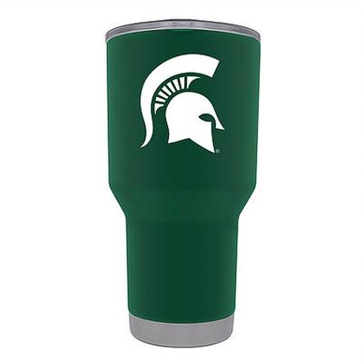 Michigan State Gametime Sidekick 30oz Green Tumbler