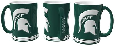 Michigan State Sculpted Relief Mug