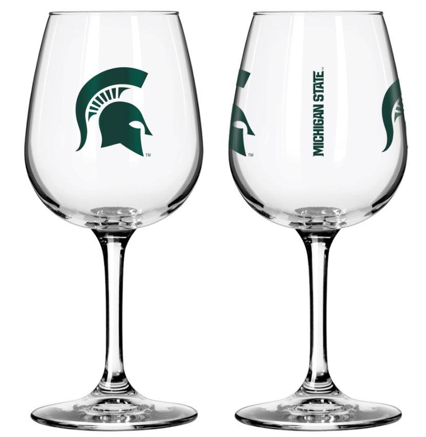 Michigan State 12oz Gameday Wine Glass