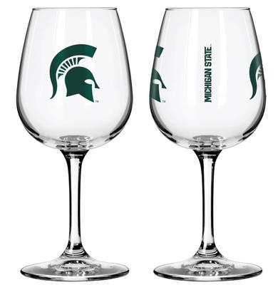 Michigan State 12oz Gameday Wine Glass