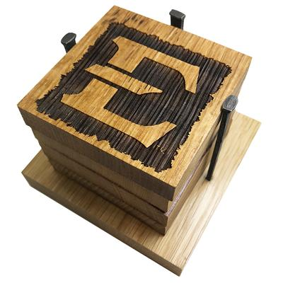 ETSU Timeless Etchings Coasters w/ Bottle Opener
