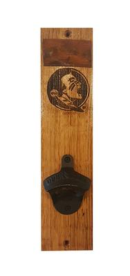 Florida State Timeless Etchings Mounted Bottle Opener