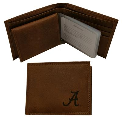 Alabama Embossed Bifold Wallet