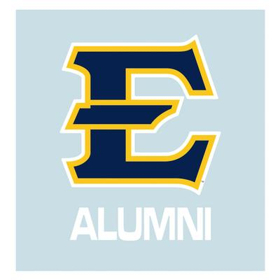 ETSU E Alumni Decal
