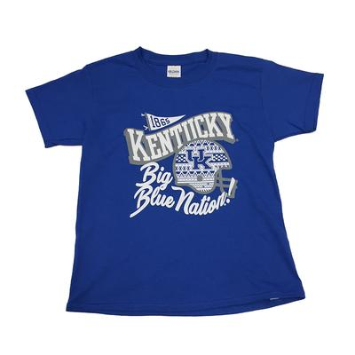 Kentucky Girls Wave Helmet Script Tee