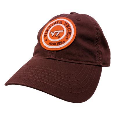Virginia Tech Legacy Adjustable Twill Chucky Hat