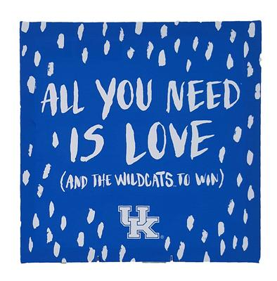 Kentucky All you need is Wildcat Sign