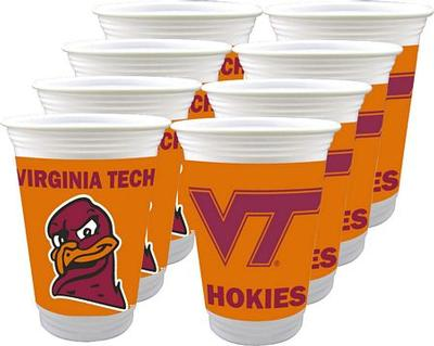 Virginia Tech 16 Oz. Plastic Cups