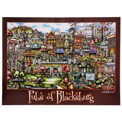 Pubs of Blacksburg Poster