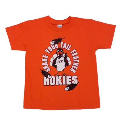 Virginia Tech Youth Shake Your Tailfeather T-Shirt