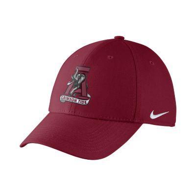 Alabama Nike Vault Logo Dri-FIT Wool Swoosh Flex Hat
