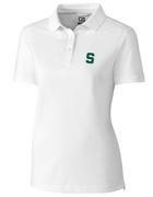 Michigan State Cutter And Buck Women's Advantage Drytec Polo