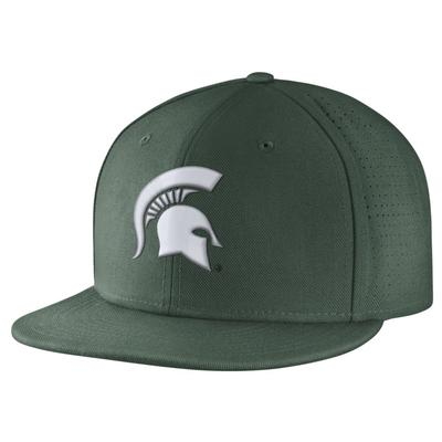 Michigan State Nike True Vapor Fitted Cap